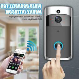 Smart Ring Video DoorBell Wireless WiFi Phone Door Visual Ca