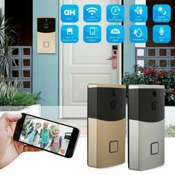Smart Video Doorbell PIR Wireless Wifi Home Security APP Con