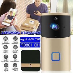 Smart Video Wireless WiFi Doorbell IR Vision Camera Recorder