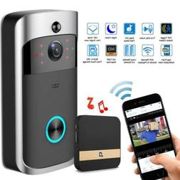 Smart Video Wireless WiFi Doorbell IR Vision Camera Recorder