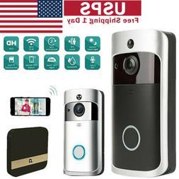 Smart WiFi Doorbell Camera Video Wireless APP Remote Door Be