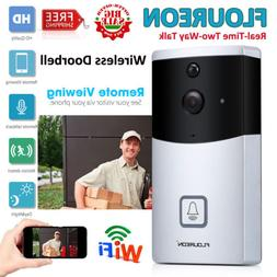 Smart Wifi Doorbell Wireless PIR Video Camera Ring Night Vis