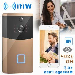 Smart Wifi Doorbell Wireless Video Camera Ring Bell Motion D