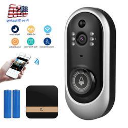 Smart Wireless Phone Door Bell Camera Video Intercom Ring Do