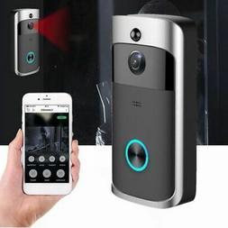 Smart Wireless Phone Door Bell Camera WiFi Smart Video Inter
