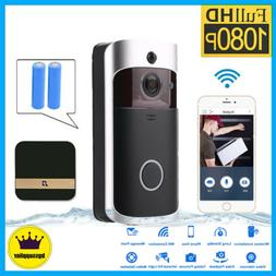 smart wireless phone door bell camera wifi