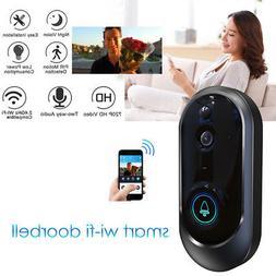 Smart Wireless WiFi Doorbell HD Camera IR Video Phone Interc