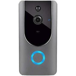 Smart Wireless WiFi Video Doorbell HD Security Camera with P