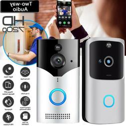 Smart Wireless WiFi Doorbell Video Camera Phone Bell Interco