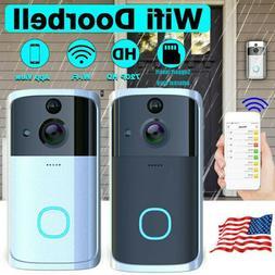 Smart Wireless WiFi Ring Doorbell Video Camera Phone Bell In
