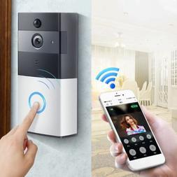 Smart Wireless WIFI Video Door Phone Door Bell For Home IR A