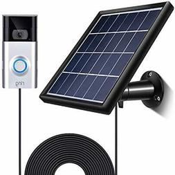 Solar Transformers Panel Compatible With Ring Video Doorbell