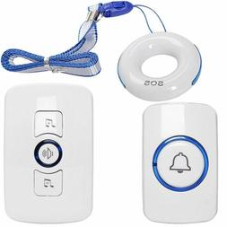 NEW SadoTech SOS Medical Alert Caregiver Paging System, 2 Re