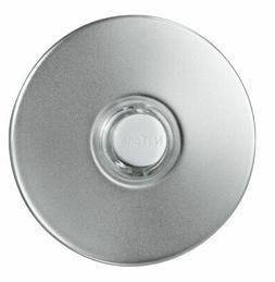 NuTone SPB41LSN Lighted Round Stucco Pushbutton - Satin Nick