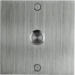 Waterwood Hardware Square Stainless Steel Doorbell