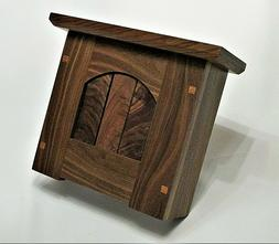 Stickley Mission Style Walnut Doorbell Chime Cover