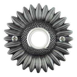 Sunflower Decorative Doorbell with lighted button