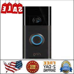 The Ring Smart Camera Live Video 2 Way Doorbell Alexa iPhone