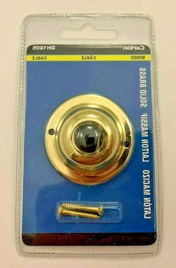 Thomas & Betts CARLON Replacement Push Button Doorbell Gold