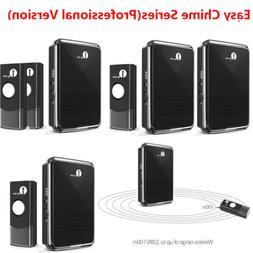 1byone Twin Wireless Plug in Doorbell Kit Door Easy Chime Be