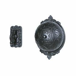 A29 Twist Hand-Turn Solid Brass Wireless Mechanical Doorbell