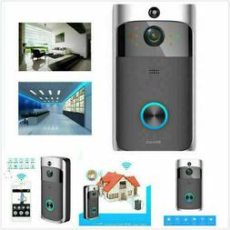 Two-Way Bell WiFi Wireless Video Door PIR Doorbell HD Talk S