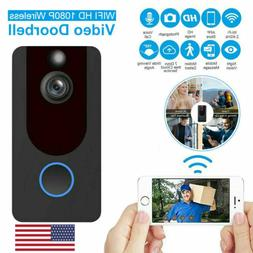 Two-Way Door Bell WiFi Wireless Video PIR Doorbell Talk Smar