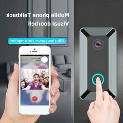 US Smart WiFi Doorbell Camera Video Wireless Visual Ring Doo