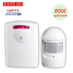 US Wireless Home Security Driveway Alarm& 1 Receiver for Fam
