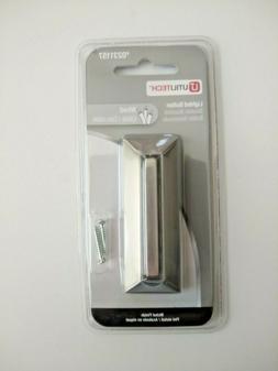 Utilitech Satin Nickel Doorbell Button Item # 231157 Model #