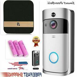V5 Wireless Smart Doorbell Wi-Fi Video Phone Door Bell Two-W