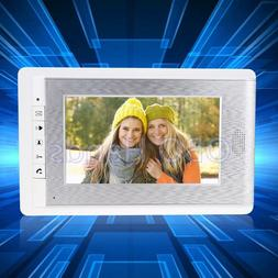 Video Door Phone Indoor Monitor Screen with Physical Button