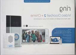 RING Video Doorbell 2 Bonus Chime 1 Year Ring Video Cloud Re