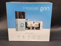 video doorbell 2 camera satin nickel wifi
