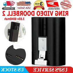 RING VIDEO DOORBELL 2 REPLACEMENT BATTERY 3.65V 6040mAh 22.0