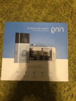 Ring Video Doorbell 2 WiFi Enabled Wireless Doorbell Satin N