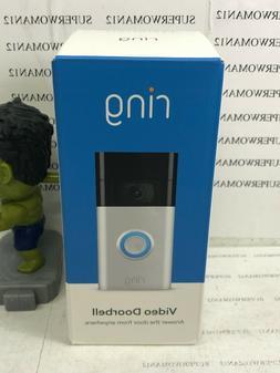 Ring Video Doorbell  - 1080p HD - Satin Nickel