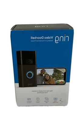 Ring Video Doorbell  1080p HD - Venetian Bronze | Brand New