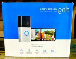 Ring Video Doorbell 3 1080p 2-way Talk Alexa Security Camera