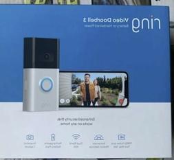 video doorbell 3 in satin nickel brand