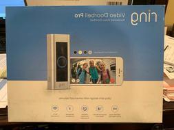 Ring Video Doorbell Pro WiFi 1080P HD Camera.FACTORY SEALED!