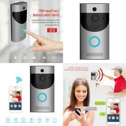 Video Doorbell, Waterproof Smart Doorbell 720P HD WiFi Secur