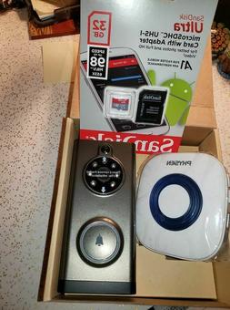 Video Doorbell, PHYSEN Waterproof Wifi Doorbell with Camera