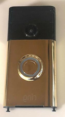RING VIDEO DOORBELL - WIFI Smart - Android IOS Win10 - Gold