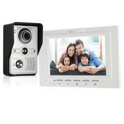 Video Doorbell Wired Rainproof Camera Visual Intercom Two Wa