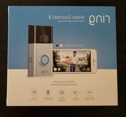 Ring Video Wireless Doorbell 2 Wire-Free Video Doorbell New