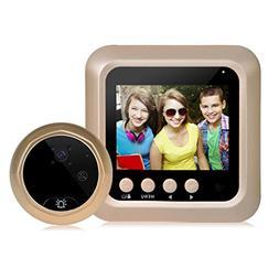 LiPing W5 2.4inch Color Screen HD Door Camera 160 ° Detecti