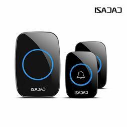 Waterproof Wireless Doorbell 300M Remote Smart Door Bell Chi