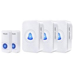 Waterproof Wireless Doorbell 55 Melody DIY Doorbell Transmit