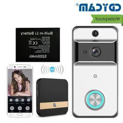 Waterproof Wireless Doorbell Low Power Wifi Video Door Phone